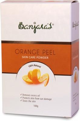 Banjaras Pure Herb Orange Peel Powder