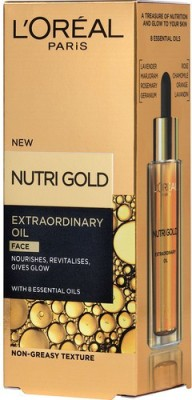 L,Oreal Paris Nutri Gold Extraordinary Face with 8 Essential Oils