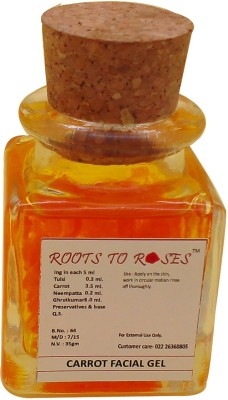 Roots To Roses Carrot Facial Gel