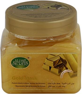 Alpine Secrets Gold Mask