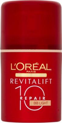L ,Oreal Paris Revitalift 10 Repair Light Tinted Bb Cream