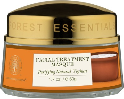 Forest Essentials Facial Treatment Masque Purifying Natural Yoghurt(50 g)