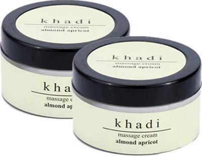 khadi Natural Almond & Apricot Massage Cream