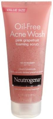 Neutrogena Oil - Free Acne Wash Scrub Pink Grapefruit