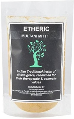 ETHERIC Pure Fuller,s Earth ( Multani Mitti) Powder