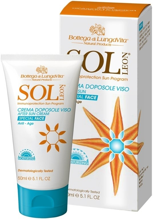 Bottega di Lungavita Sol Leon After Sun Cream Face(50 ml)