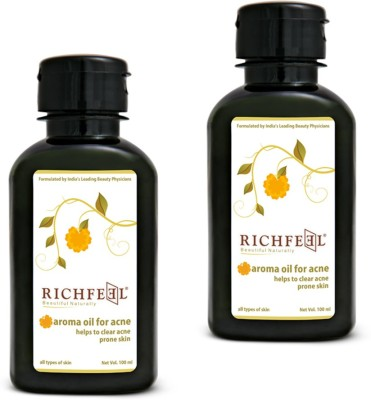 Richfeel Oil For Acne 100ml (Pack Of 2)