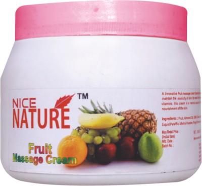 Nice Nature Fruit Massage Cream 450gm