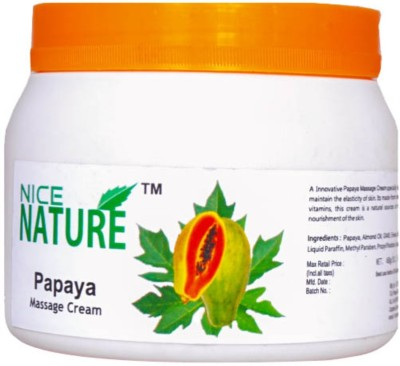 Nice Nature Papaya Massage Cream 450gm Net