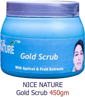 Nice Nature High Quality Gold Scrub 450gms