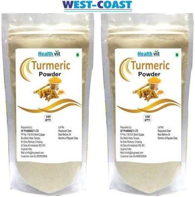 West-Coast Healthvit Turmeric (Haldi Powder) 100gms Pack Of 2