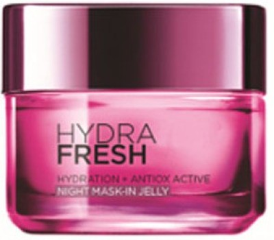 L,Oreal Paris Hydrafresh Hydration + Antiox Active Night Mask-In Jelly