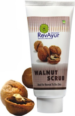 RevAyur Walnut Face Scrub