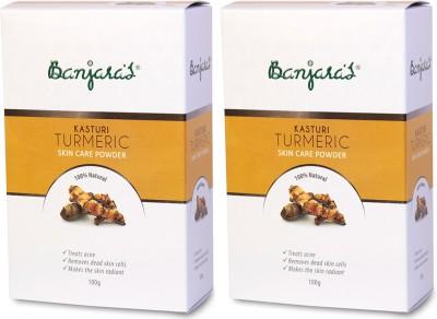 Banjaras Pure Herb Kasturi Turmeric 20g X 5 Set Of 2 Pack