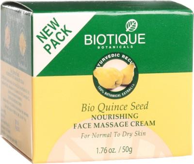 Biotique Bio Quince Seed Nourishing Face Massage Cream(50 g)
