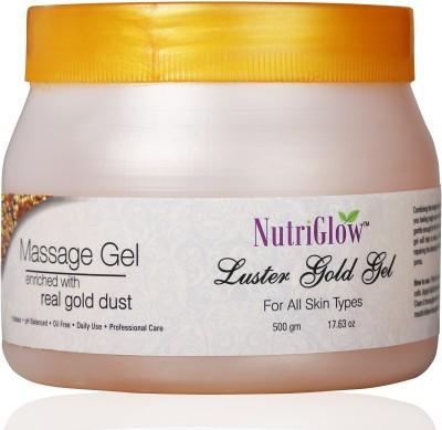NutriGlow Luster Gold Massage Gel