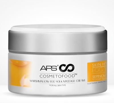 Aryanveda Aps Cosmetofood Marshmallow Egg Yolk Massage Cream