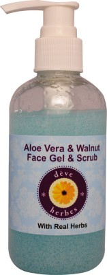 Deve Herbes Aloe Vera & Walnut Face Gel Scrub