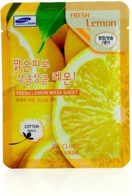 3W Clinic Cleanser Mask Sheet - Fresh Lemon