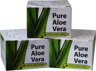Gauri International Cosmetics 100% Natural Pure Aloe Vera Gel for Young & Radiant Skin (Non-Toxic & Zero Chemicals)