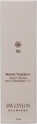 Spa Ceylon Luxury Ayurveda White Tuberose Night Repair Face Treatment Oil