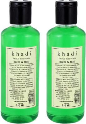 Khadi Herbal Neem - Tulsi Face & Body Wash Face Wash