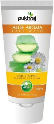 Pukhraj Aloe Aroma with Acne Care and Repair Formula Face Wash