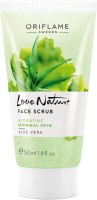 Oriflame Sweden Love Nature Face Scrub Aloe Vera Face Wash(50 ml) best price on Flipkart @ Rs. 330