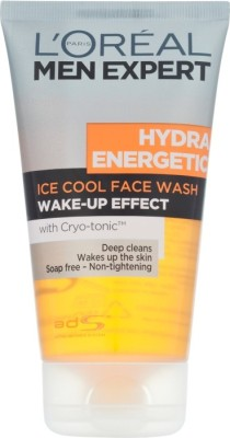 L,Oreal Paris Hydra Energetic Ice Cool Wake up effect Face Wash