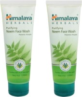 Himalaya Purifying Neem Face Wash - Pack of 2 Face Wash best price on Flipkart @ Rs. 215