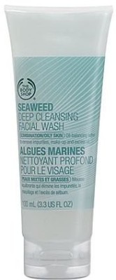 The Body Shop Seaweed Deep Cleansing Facial Wash Face Wash(100 ml)