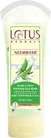 Lotus HERBALS NEEMWASH� Neem & Clove Ultra-Purifying Face Wash with Active Neem Slices Face Wash best price on Flipkart @ Rs. 175