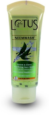 Lotus Neemwash Neem and Clove Face Wash