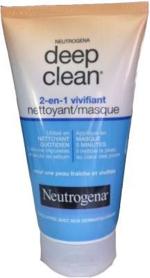 Neutrogena Deep Clean Nettoyant Masque Face Wash
