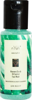 Nyah Aloevera Scrub Oil Control  Face Wash
