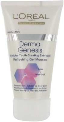 L ,Oreal Paris Derma Genesis Refreshing Gel Mousse Face Wash