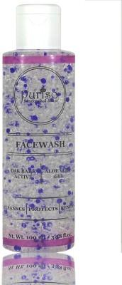 Puriso Oak Bark Active & Aloe Vera Gel Face Wash