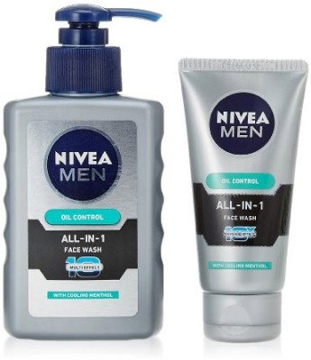 Nivea Oil Control All In One  Face Wash