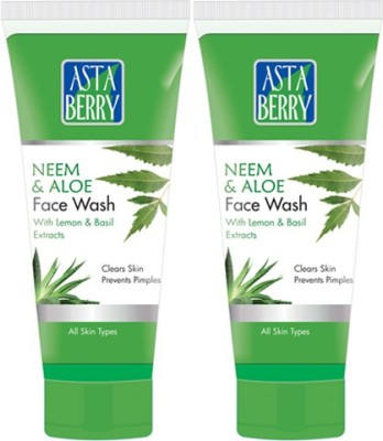 Astaberry Neem & Aloe Pack of 2 Face Wash