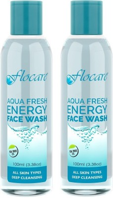 Flocare Aqua Fresh Energy (Set of 2) Face Wash