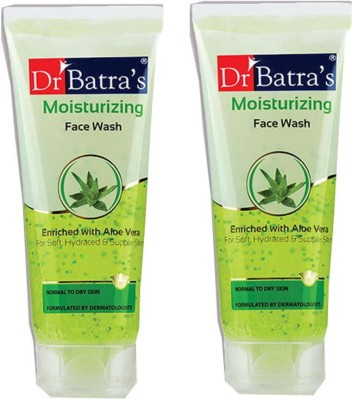 Dr Batra Enriched With Aloevera Moisturizing Face Wash