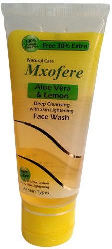 Mxofere Natural Aloevera Lemon Face Wash(65 ml)