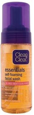 Clean & Clear Essentials Self-foaming Face Wash