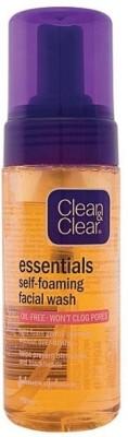 Clean & Clear Essentials Self-foaming Face Wash