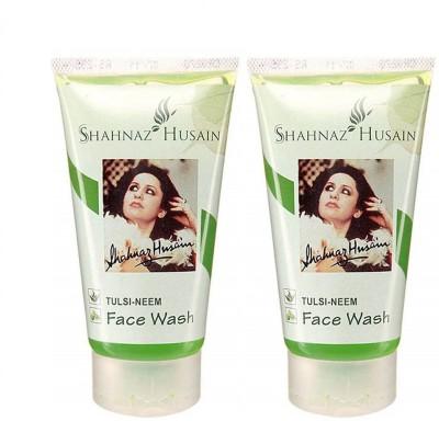Shahnaz Husain Tulsi Neem 150 Gm(Pack of 2) Face Wash
