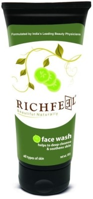 Richfeel Cucumber Deep Cleanse  Face Wash