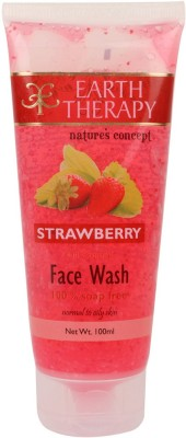 EARTH THERAPY Strawberry Oil Control Face Wash