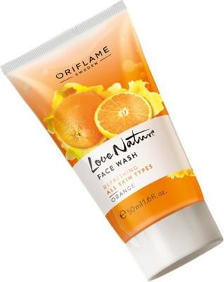 Oriflame Sweden LOVE NATURE ORANGE Face Wash