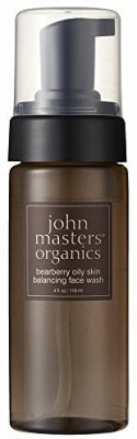 John Masters Organics Face Wash For Oily Skin Balancing Bearberry Face Wash