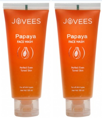 Jovees Papaya Perfect Even Toned Skin  Face Wash